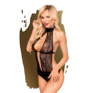 Penthouse Teddy Perfect Lover Negro Talla M/L